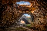 Die Höhle von Devetaki, Bulgarien