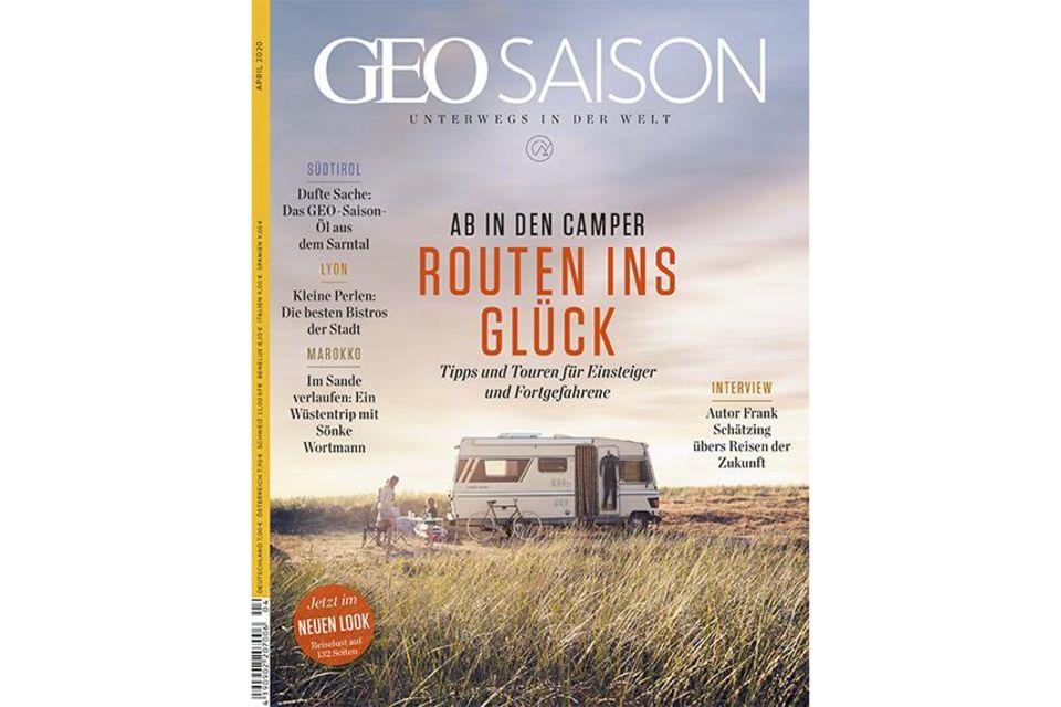 GEO SAISON Nr. 4/2020: GEO SAISON Nr. 4/2020 - Routen ins Glück