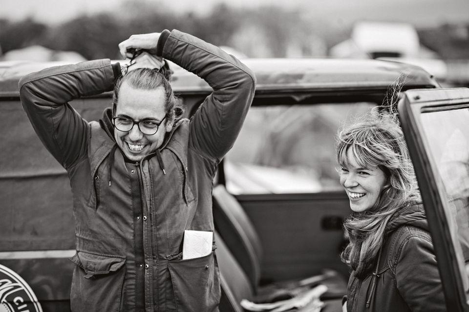 Ilona Kriesl und Titus Jansen