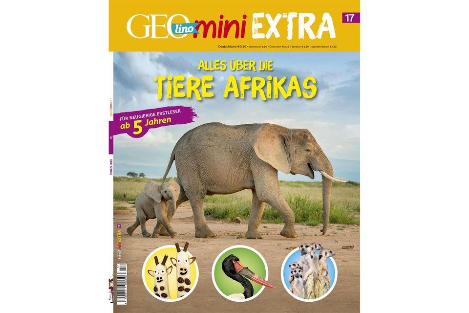 GEOlino Mini Extra Nr. 17: Alles über die Tiere Afrikas