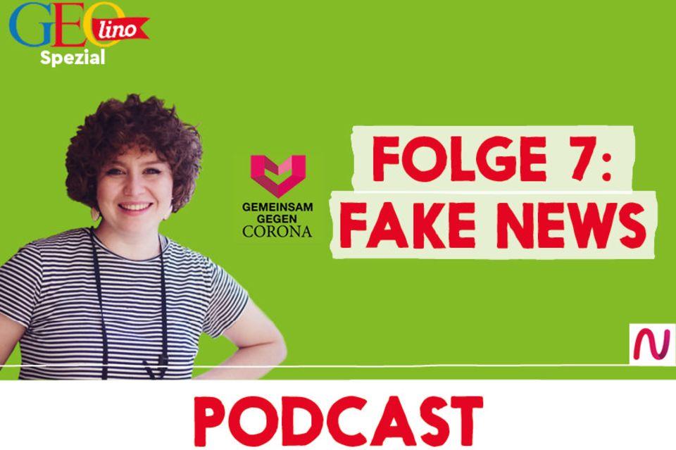 GEOlino-Podcast Folge 7: Gemeinsam gegen Corona: Fake News
