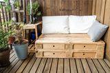 Paletten-Couch
