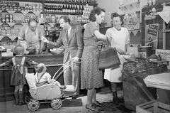 Einkaufen beim Krämer