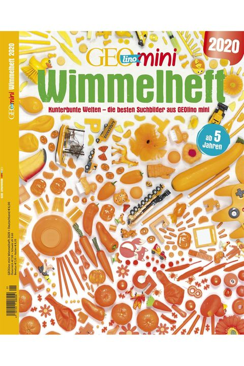 GEOlino Mini Wimmelheft Nr. 01/2020: Kunterbunte Welten - die besten Suchbilder aus GEOlino Mini