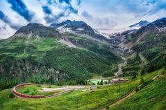 Bernina Express, Schweiz