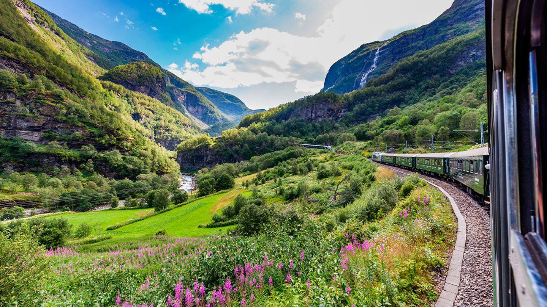 Flåmbana, Norwegen