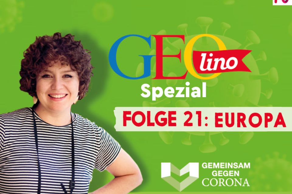 GEOlino-Podcast Folge 21: Gemeinsam gegen Corona: Europa