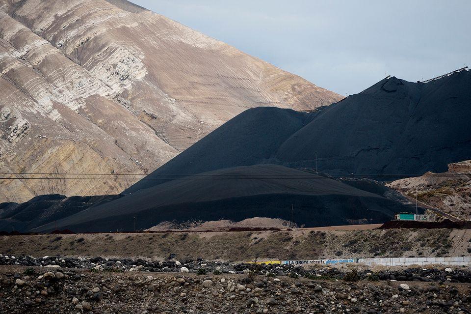 Bergbau in den Anden