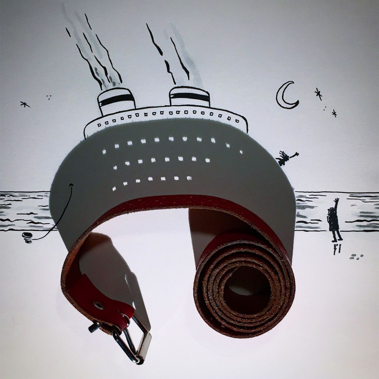Die Titanic und der Gürtel