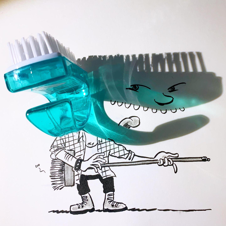 Mr. Broombastic und die Zahnbürste