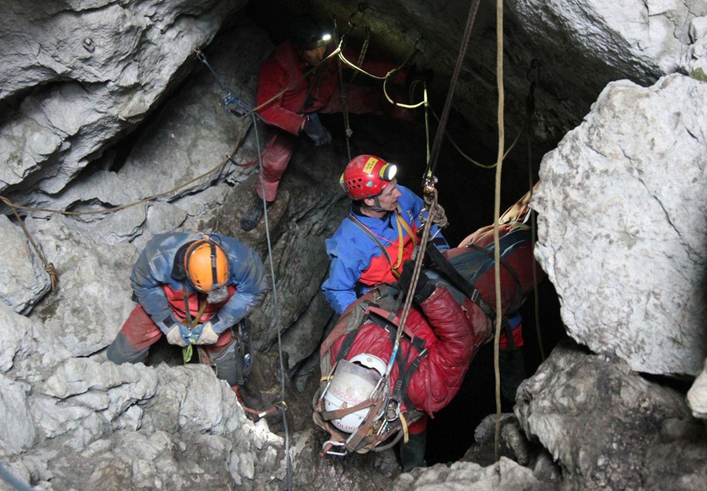 Rettung aus der Riesending-Höhle