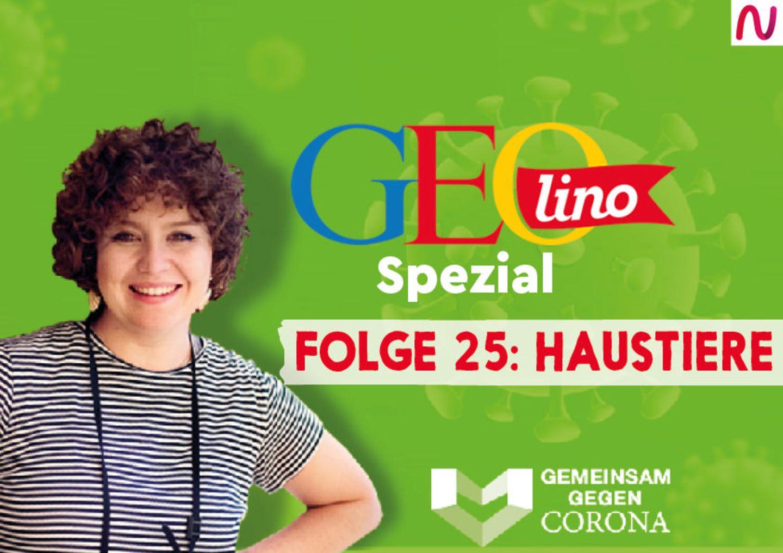 GEOlino-Podcast Folge 25: Gemeinsam gegen Corona: Haustiere