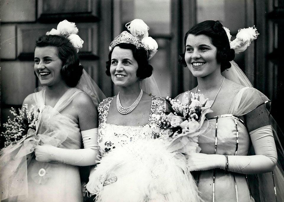 Kathleen Kennedy, J. Kennedy und Rosemary Kennedy