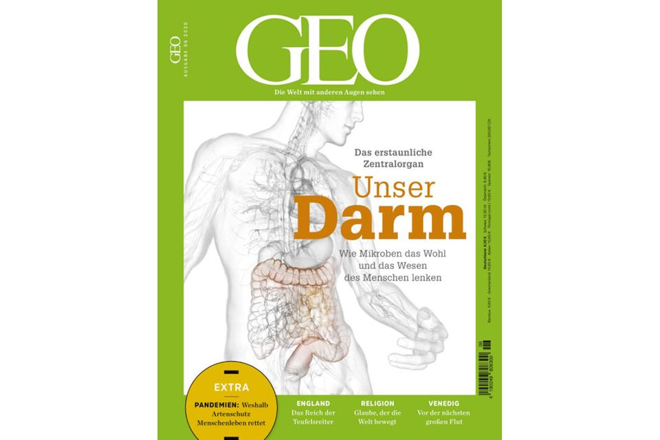 GEO Nr. 06/2020: GEO Nr. 06/2020 - Unser Darm