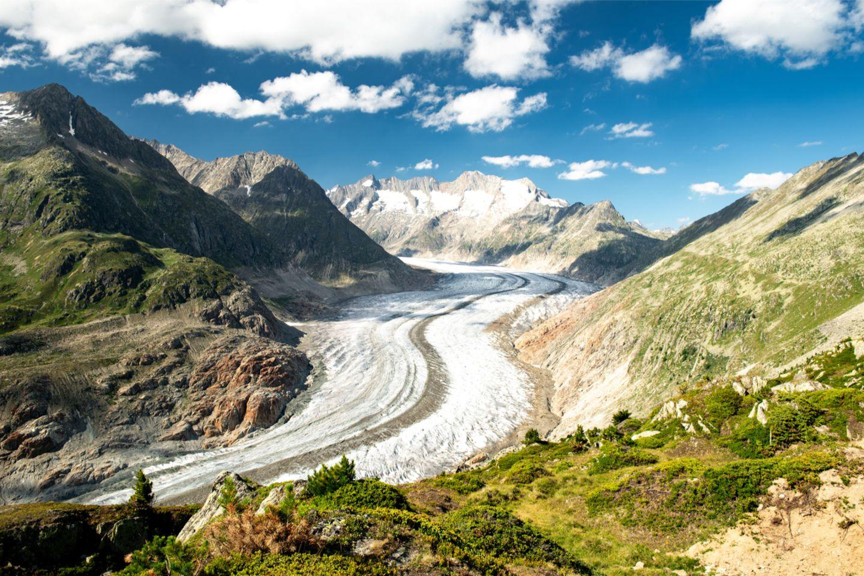 Wallis Aletsch-Gletscher