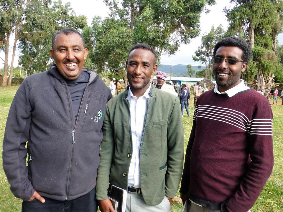 Äthiopien: Lokale Projektmitarbeiter