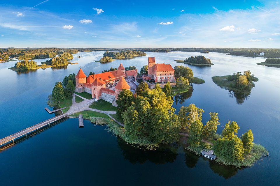 Litauen: Wasserburg Trakai
