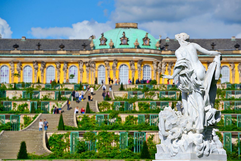 Deutschland: Schloss Sanssouci