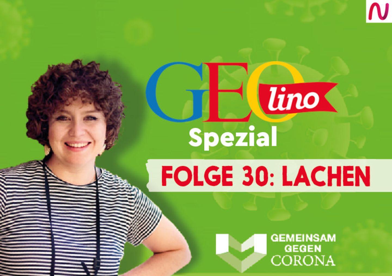GEOlino-Podcast Folge 30: Gemeinsam gegen Corona: Lachen