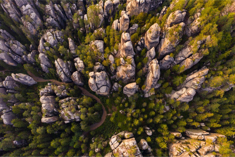 Adrspach Teplice Nationalpark