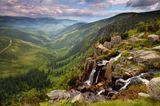 Riesengebirge; Wasserfall Pancavsky