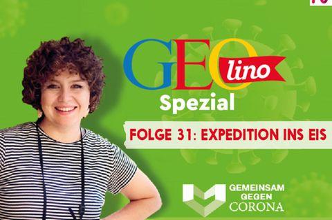 GEOlino-Podcast Folge 31: Gemeinsam gegen Corona: Expedition ins Eis