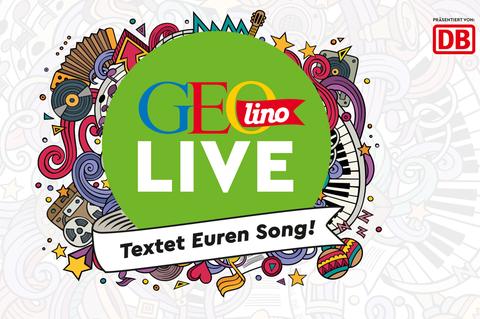 Wettbewerb: Macht mit bei der GEOlino Songtext-Challenge