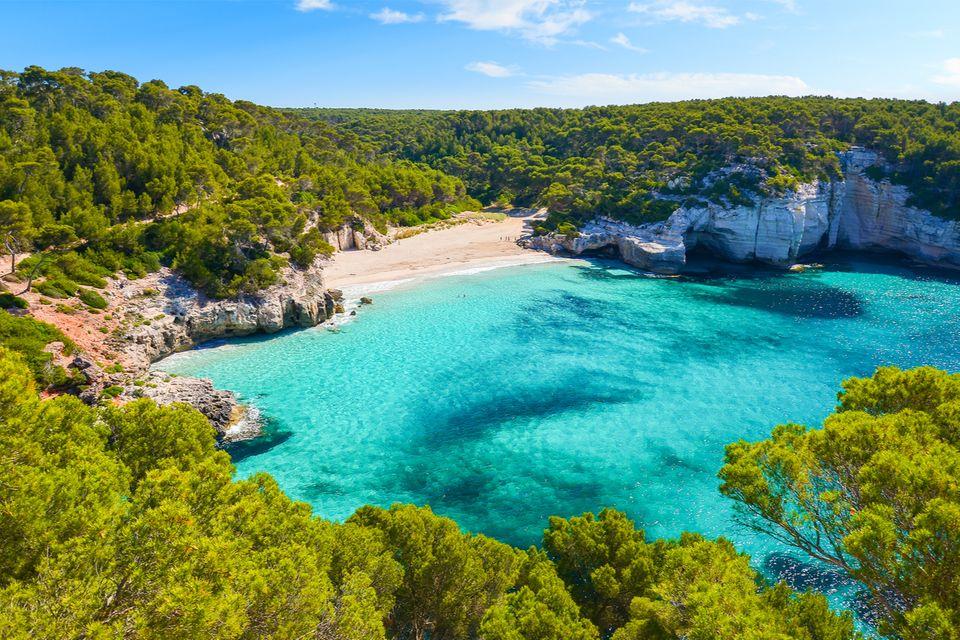 Strand von Mitjaneta, Menorca