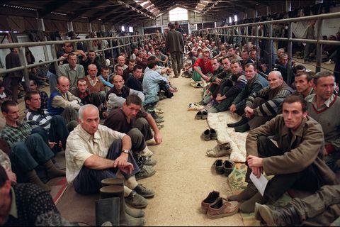 Gefangenenlager 1992 in Manjaca