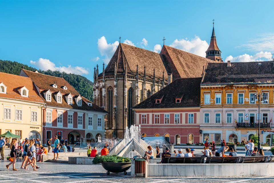 Kronstadt, Brasov, Transsilvanien in Rumänien