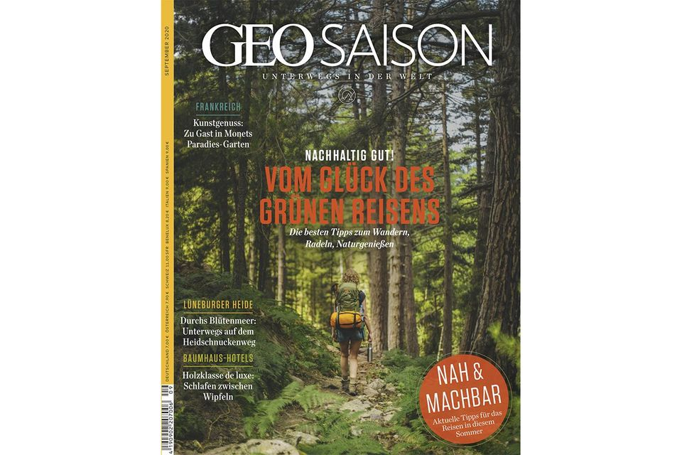GEO Saison Nr. 09/2020: GEO Saison Nr. 09/2020 - Das Glück des Grünen Reisens