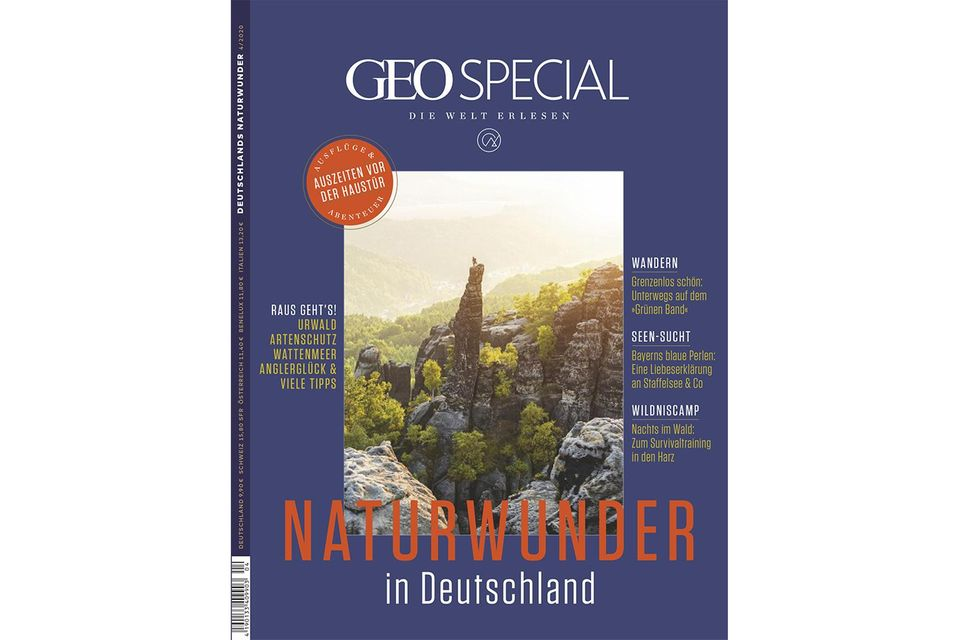 GEO SPECIAL 04/2020: Naturwunder in Deutschland