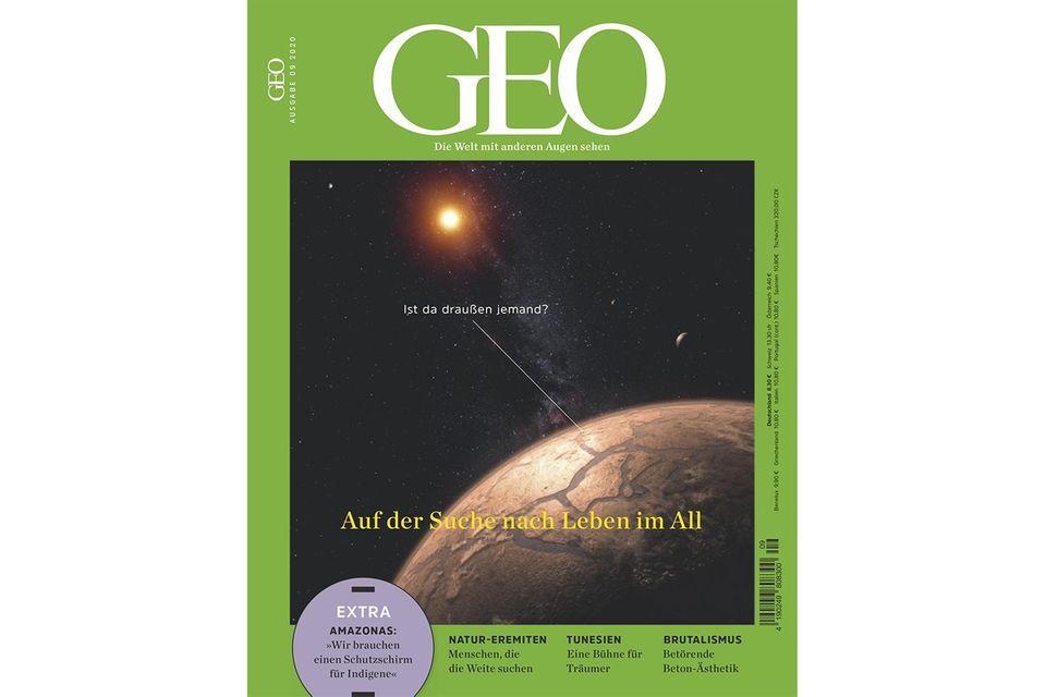 09/2020: GEO Nr. 09/2020 - Auf der Suche nach Leben im All