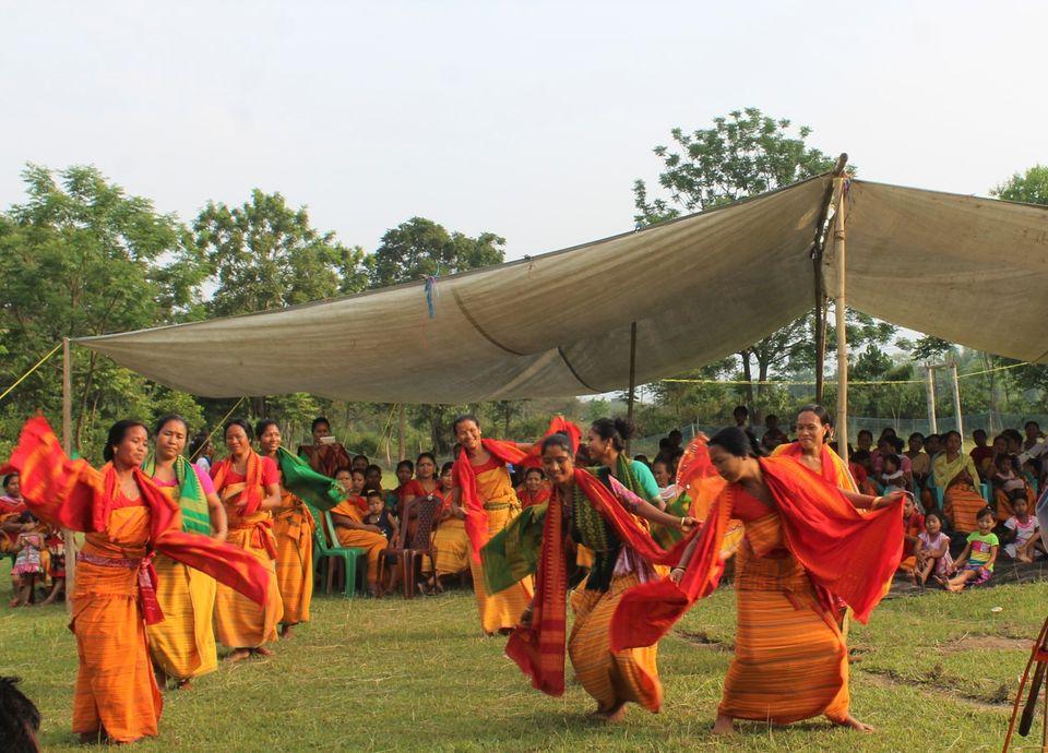 """Indien: Tanzvorführung auf der Feier am """"Tag des Welterbes"""" am 18. April 2018"""