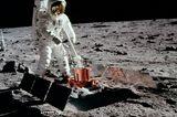 1969: Der erste Mensch auf dem Mond