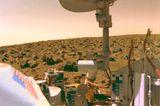 Die Viking-Mission liefert die weltweit ersten Aufnahmen von der Oberfläche des Mars