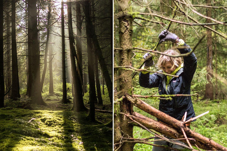 Survivaltraining im Harz