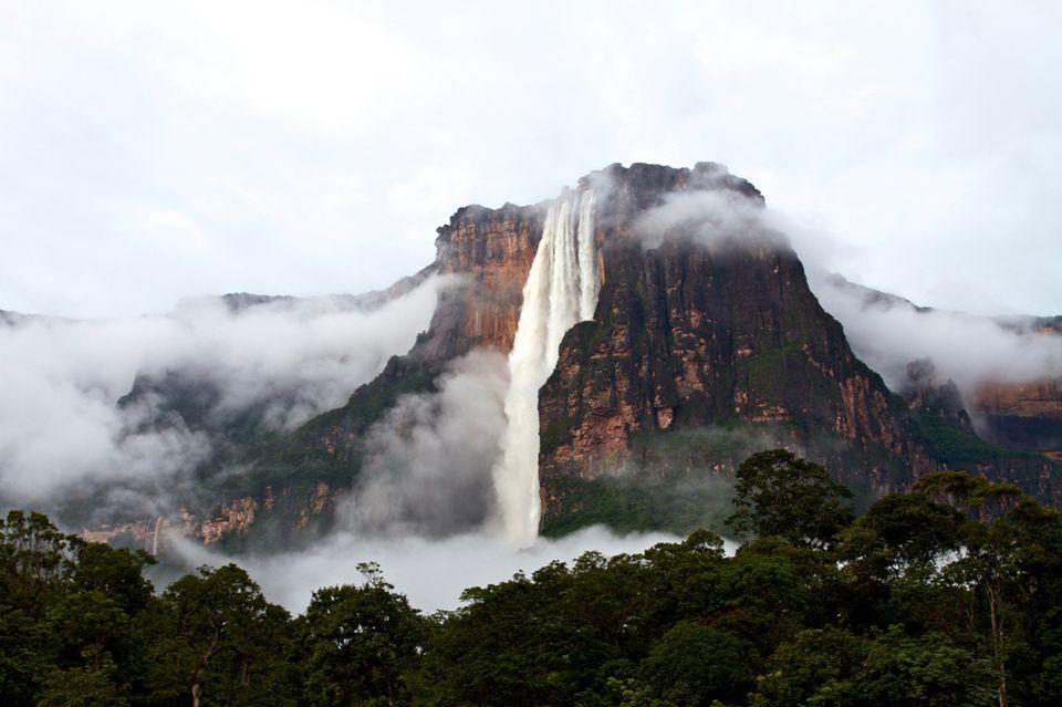Salto Angel Wasserfall