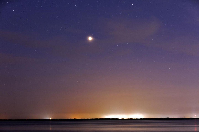 Mars am Nachthimmel