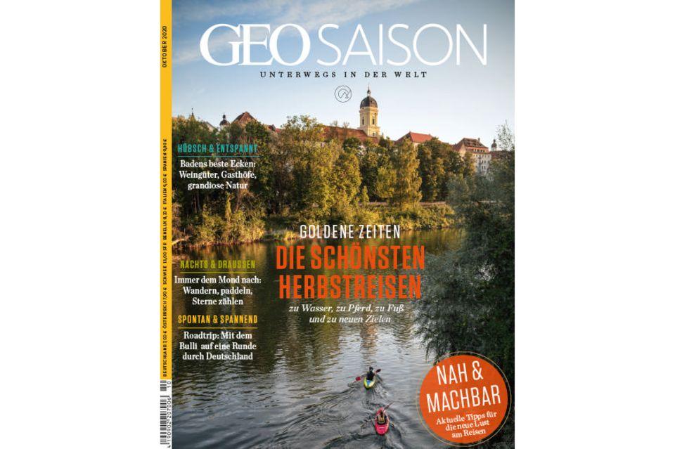 GEO Saison Nr. 10/2020: GEO Saison Nr. 10/2020 - Die schönsten Herbstreisen