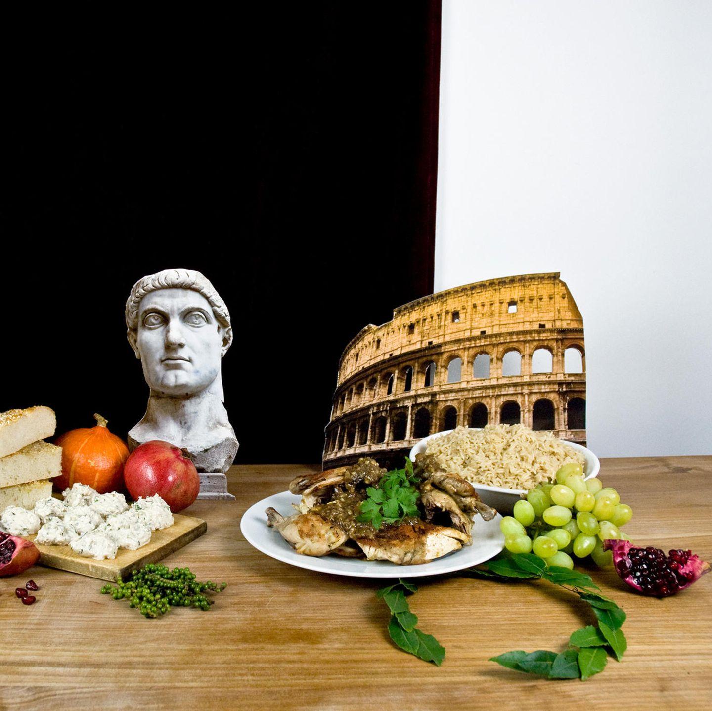 Alten rom im essen Was die