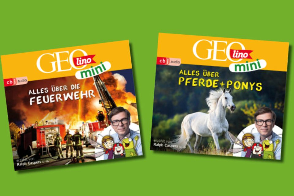 Cover der GEOlino Mini Hörbücher