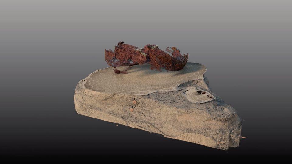 Varusschlacht: Schienenpanzer in Kalkriese entdeckt: Was der Sensationsfund über das Schicksal eines Römers verrät