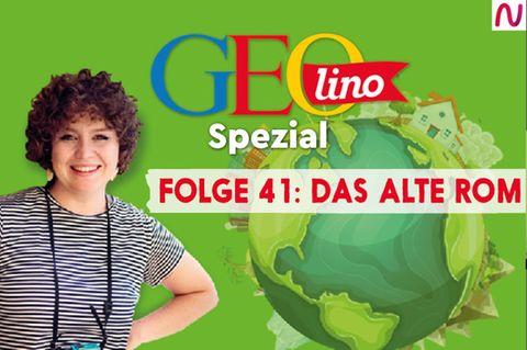 GEOlino Cover: Folge 41 Das alte Rom