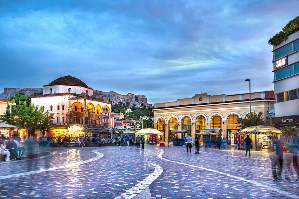 Monastiraki-Platz, Athen