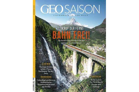 GEO Saison - Bahn frei