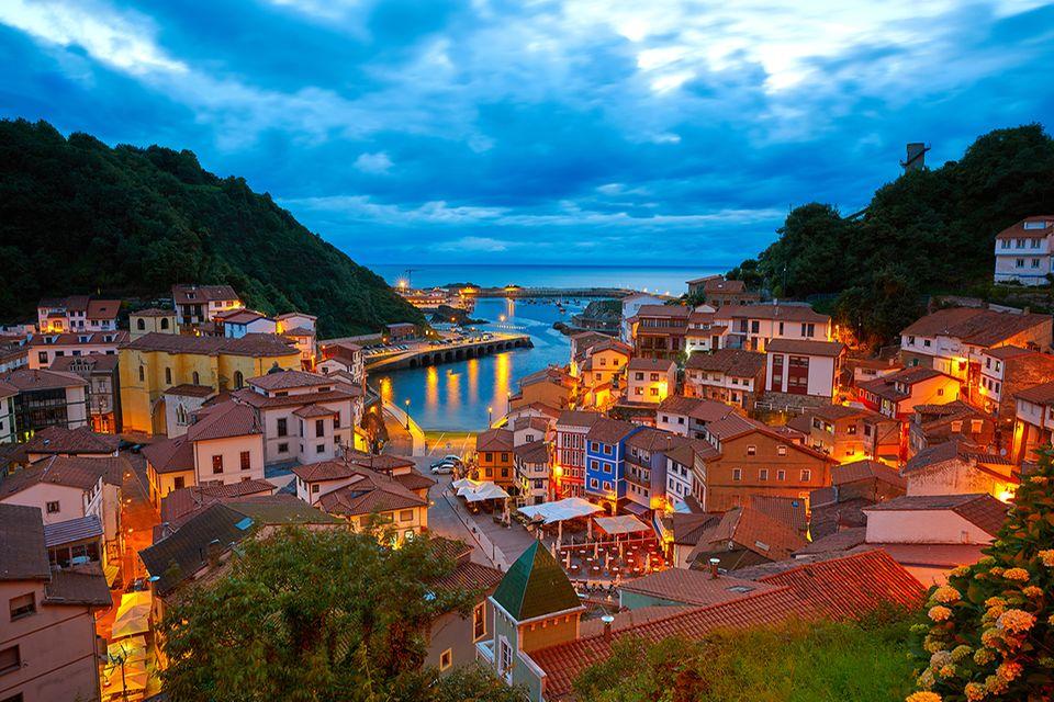 Cudillero, Asturien