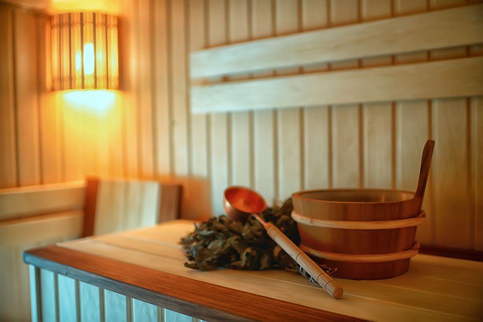 Immunsystem stärken - Sauna