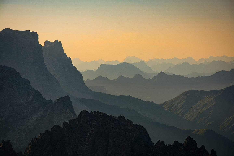 Rätikongebiet im Grenzland Vorarlberg/Schweiz