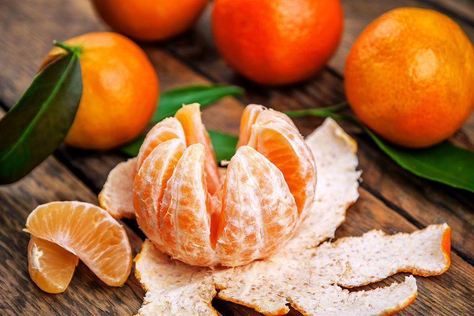 Wo ist der Unterschied: Mandarine oder Clementine?